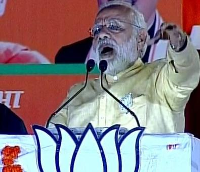 'UP government is not letting my work show': Modi in Varanasi