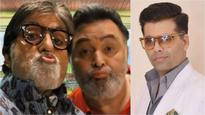 Amitabh Bachchan asked Karan Johar if he and Rishi Kapoor did the pout right, Check out KJo's 'legend'ary reply