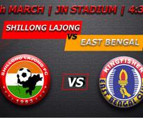 Preview: I-League - Lajong take on table-toppers East Bengal