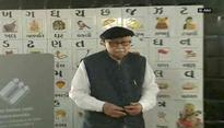 Gujarat polls: LK Advani casts his vote for final phase