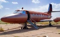 Elvis's plane to be auctioned after sitting on runway for 30 years