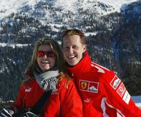 Schumi cannot walk or stand