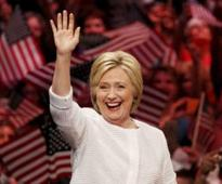 Historic day for Hillary Clinton