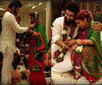 Arya Babbar gets hitched with long-time girlfriend Jasmine Puri (see pics)