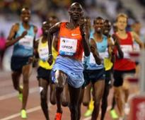Relaxed Rudisha cruises to victory
