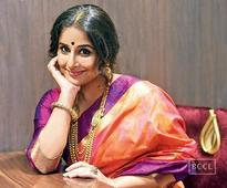 Vidya Balan: I don't put my hands on anyone's shoulder to stand tall