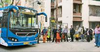 Bus service knits together community of office-goers