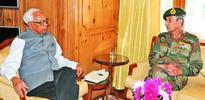 CM, Army Commander meet Governor