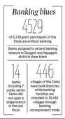 Poor rural bank reach derails DBT
