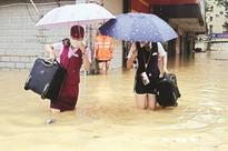 1 dead, 27 missing as typhoon batters China
