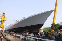 Indian Navy launches second Project 15B guided-missile destroyer