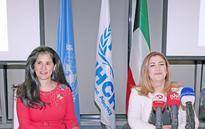 UNHCR, Sheikha Intisar Al-Sabah announce partnership to provide basic rights to refugees