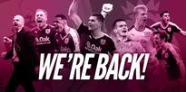 Burnley are back in the Premier League