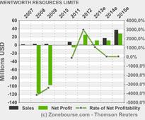 WENTWORTH RESOURCES LIMITED : Q1 2013 Financial Statements and MD