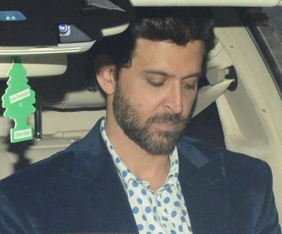 PIX: Aishwarya, Hrithik attend a wedding