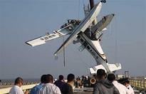 Co-pilot and 4 passengers killed as seaplane crashes into bridge