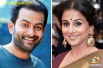 Prithviraj and Vidya Balan yet again