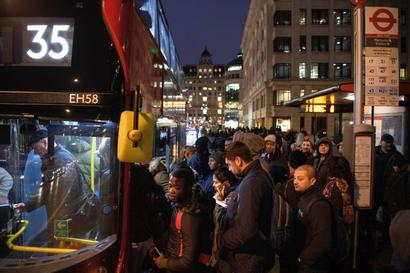 Tube strike hits millions of Londoners