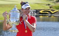 Nordqvist penalty helps Lang win U.S. Women's Open