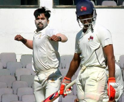 Ranji: Karnataka rout Mumbai to enter semis; Delhi and Bengal in control