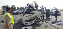 7 die, 13 hurt in Emirates Road truck-bus crash