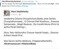 Brahmotsavam Trolled on Twitter