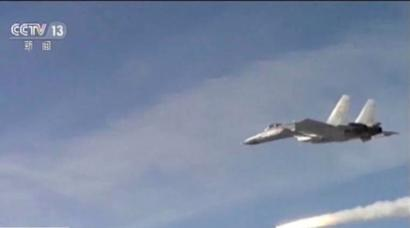 Chinese fighter over Taiwan sets off concerns
