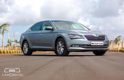 Skoda Superb diesel's ride quality is phenomenal