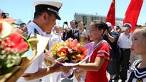 Chinese Navy visits Brisbane