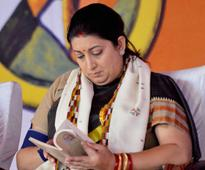 Smriti Irani says New India defined by those who dare to dream, strive on merit