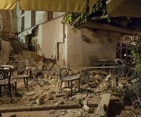 Greece: 2 killed in massive earthquake