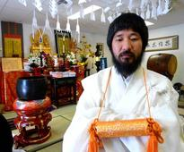 Buddhist weathers gamble of his life