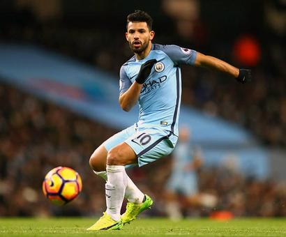 Manchester City striker Aguero breaks rib in car crash, to miss Saturday's match