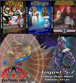 Sci-Fi, Cosplay, Steampunk, and Console Communities Excited by End-of-Summer Finale July 28, 2016Costumes, performances, gaming, and discussion panels provide a selection of over 100 activity choices scheduled to take place at Infinicon, the summer conve