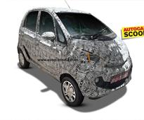 Tata Pelican (Nano-based) small car spied for the first time