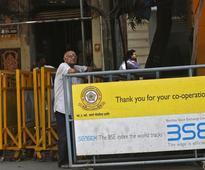 Sensex, Nifty still flat amid lackluster trades; Amrit Corp extends gains