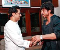Shah Rukh Khan meets MNS leader Raj Thackeray ahead of Raees release