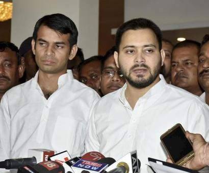 Tejashwi meets Nitish but crisis over alliance continues