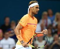 Brisbane International: Rafael Nadal wins opener, Garbine Muguruza edges past Daria Kasatkina