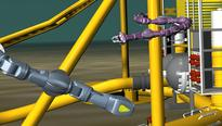 Eelume, Kongsberg and Statoil develop swimming robots for subsea inspection