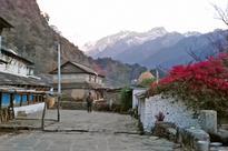Scenic Annapurna Mountain Range