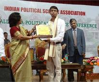 Dr. Durga Prasad Chhetri Awarded NYPS Award 2017