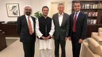 Rahul Gandhi meets Singapore PM, wide range of topics discussed