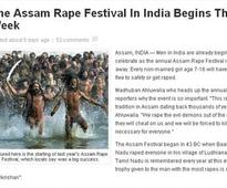 US website takes satire too far, makes up 'Assam Rape Festival'