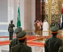 King Salman on official visit to UAE - in pictures