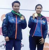 Jitu-Heena pair wins gold in ISSF World Cup