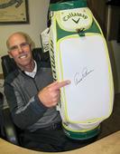 Bagging Arnold Palmer's autograph