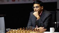 Tata Steel Chess: Viswanathan Anand draws with Anish Giri; slips to joint second