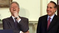 Bob Dole says Hillary Clinton's 'baggage' will haunt her campaign