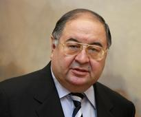 Arsenal major shareholder Alisher Usmanov...